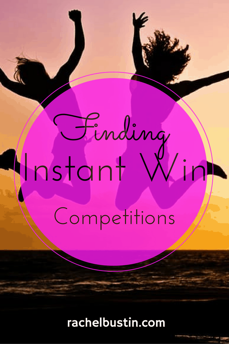 How to find instant win competitions