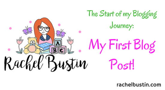 My First Blog Post! blogging, writing, the beginning, see more rachelbustin.com