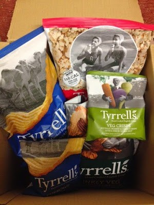 Tyrrells Crisps win and a Book