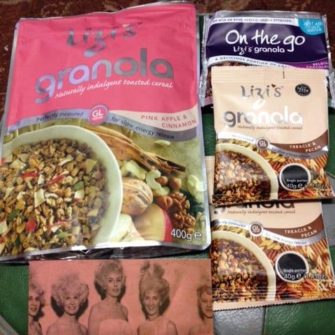 Granola, Stretch Cream and a Picture….