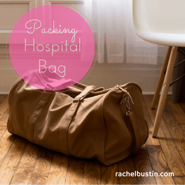 Packing your hospital bags