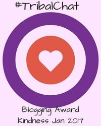 blogging award jan 2017