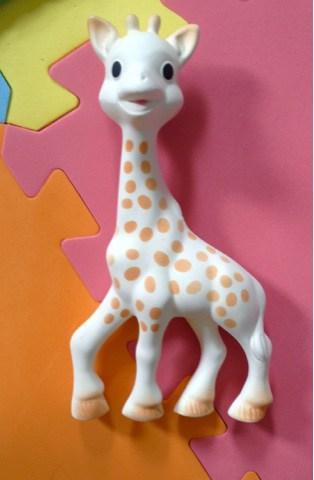 Sophie the Teething giraffe.