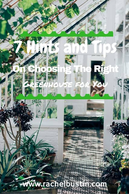 Choosing the right greenhouse for you