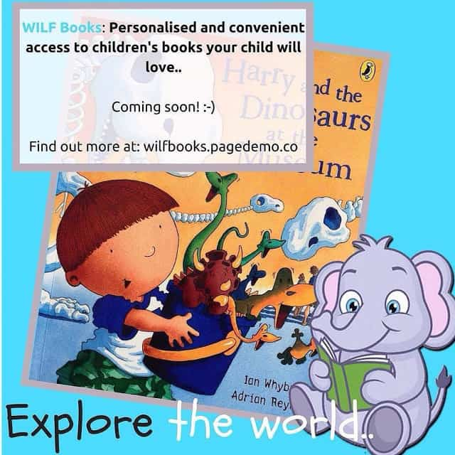WILF Books- Explore the World book sharing for children
