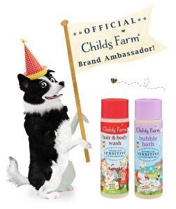 childs farm brand ambassador badge