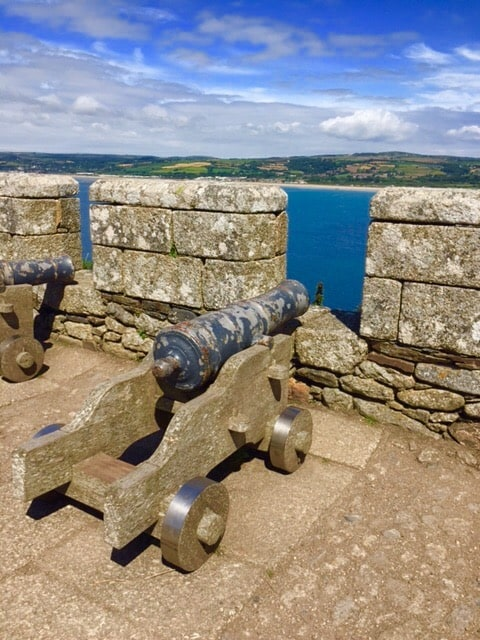 Cannons St Michael's Mount Marazion Cornwall