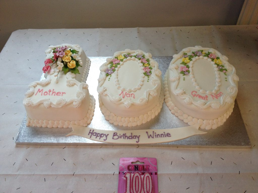 100th Birthday Cake for my husbands nan