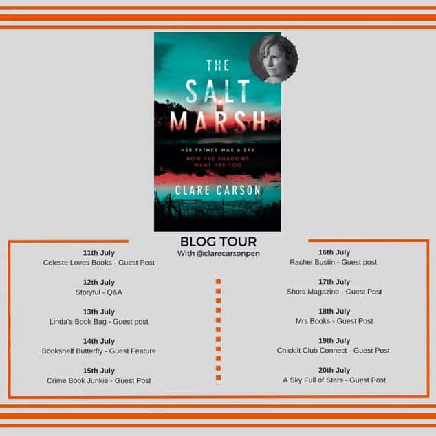 salt marsh book tour