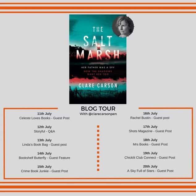 salt marsh book tour