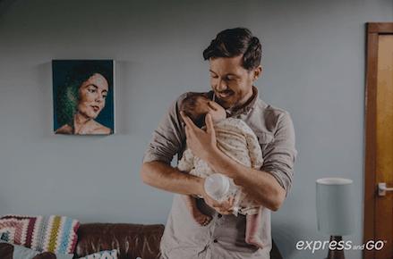 Jon & Otto - Dad's Got This - World Breastfeeding Week