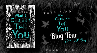 What I Couldn't Tell You Blog Tour Banner