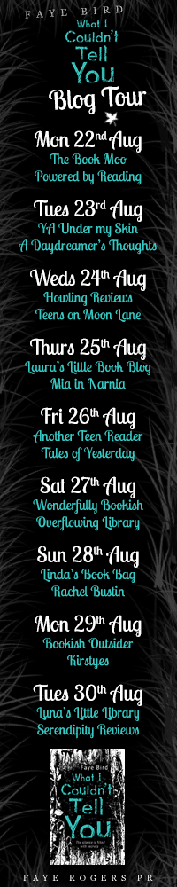 What I Couldn't Tell You Blog Tour