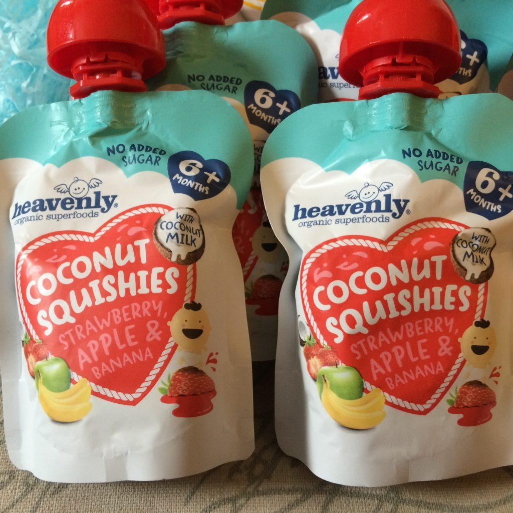 Coconut squishies - Banana, apple and strawberry -Rachel Bustin