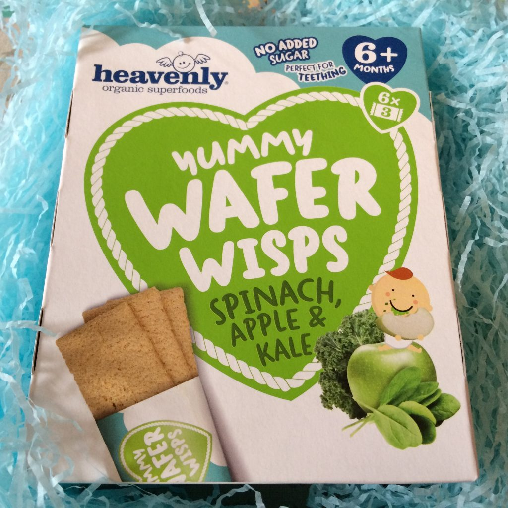 Wafer Wisps - Spinach, apple and kale - Rachel Bustin