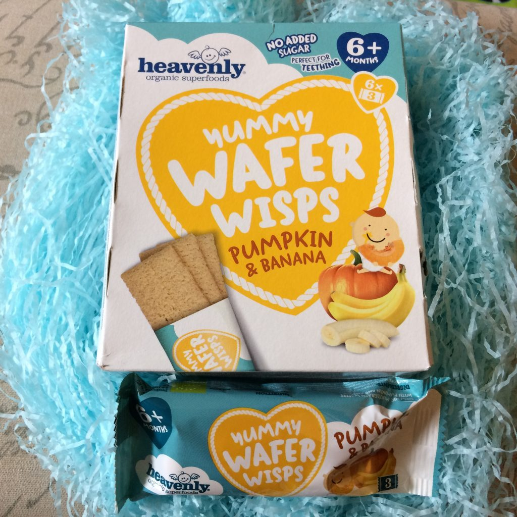 Wafer Wisps - Pumpkin and banana flavoured - Rachel Bustin