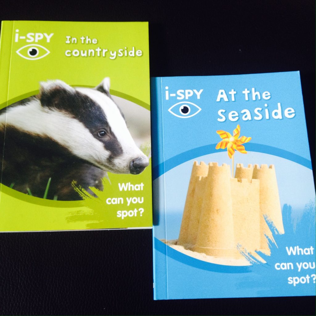 i-spy books - In the Countryside and at the seaside