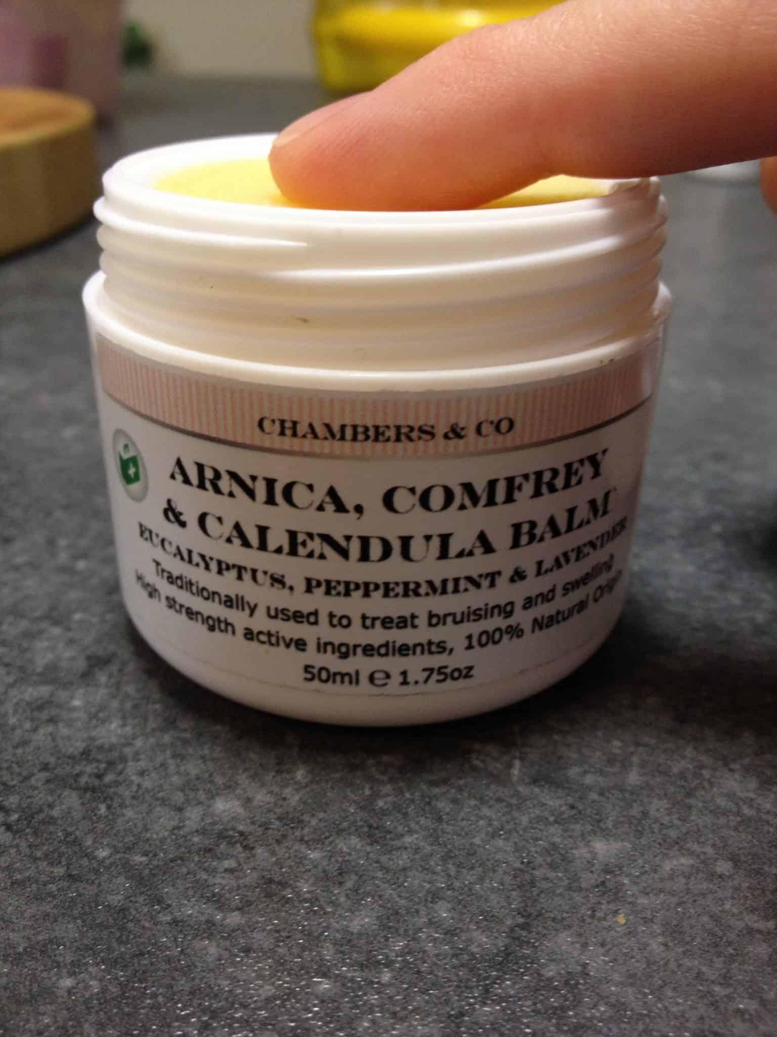 Arnica, Comfrey & Calendula Balm