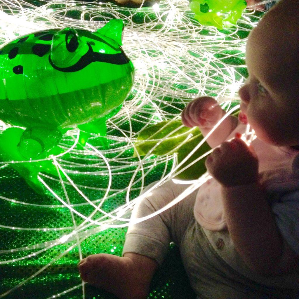 Baby Frog week at Baby Sensory - Rachel Bustin