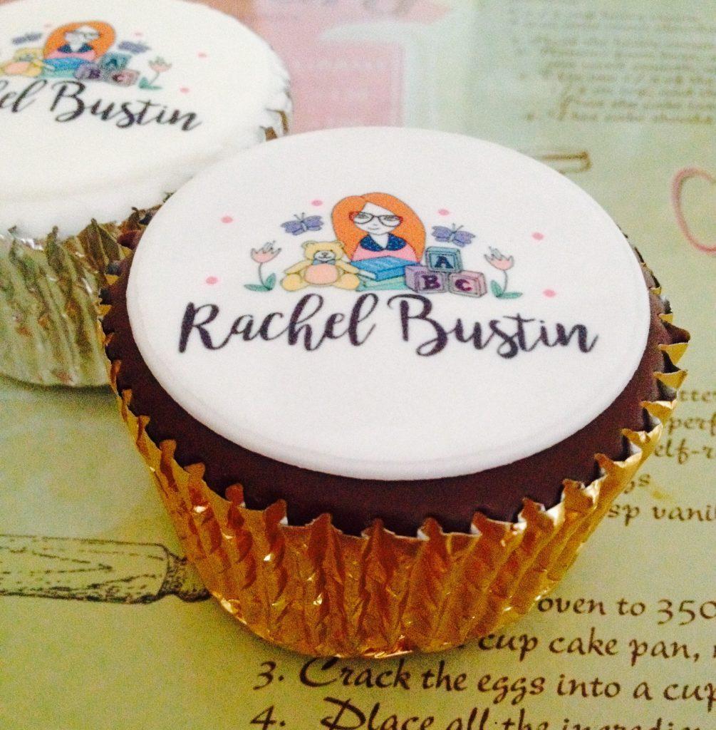 Personalised cupcakes - Rachel Bustin
