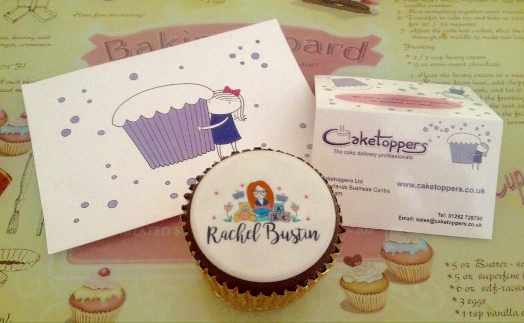 Reviewing Personalised Cupcakes from Caketoppers