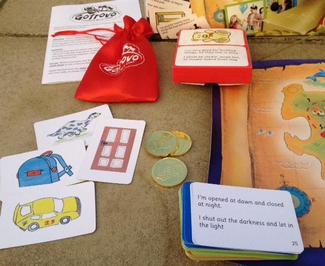 The Gotrovo Treasure Hunt Game - Rachel Bustin