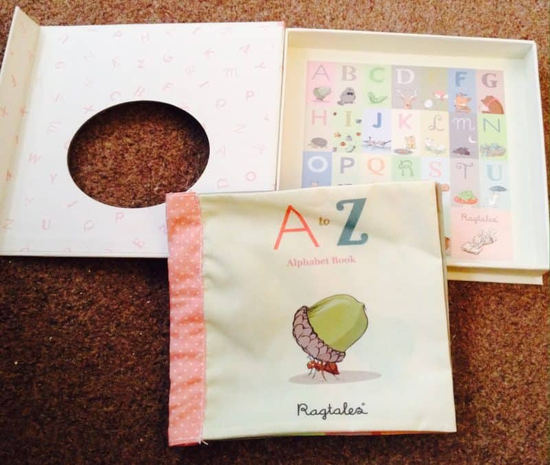 Fabric A-Z alphabet book