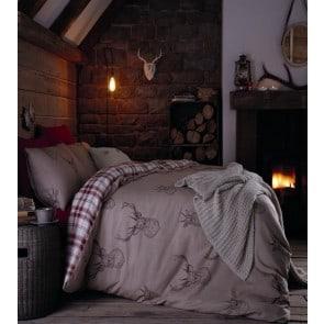 Stag Duvet Cover Design - Autumn Bedding