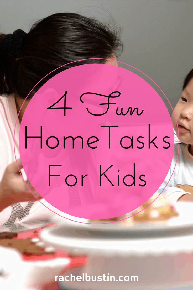4 Home Tasks That Can be Made Fun for the Kids