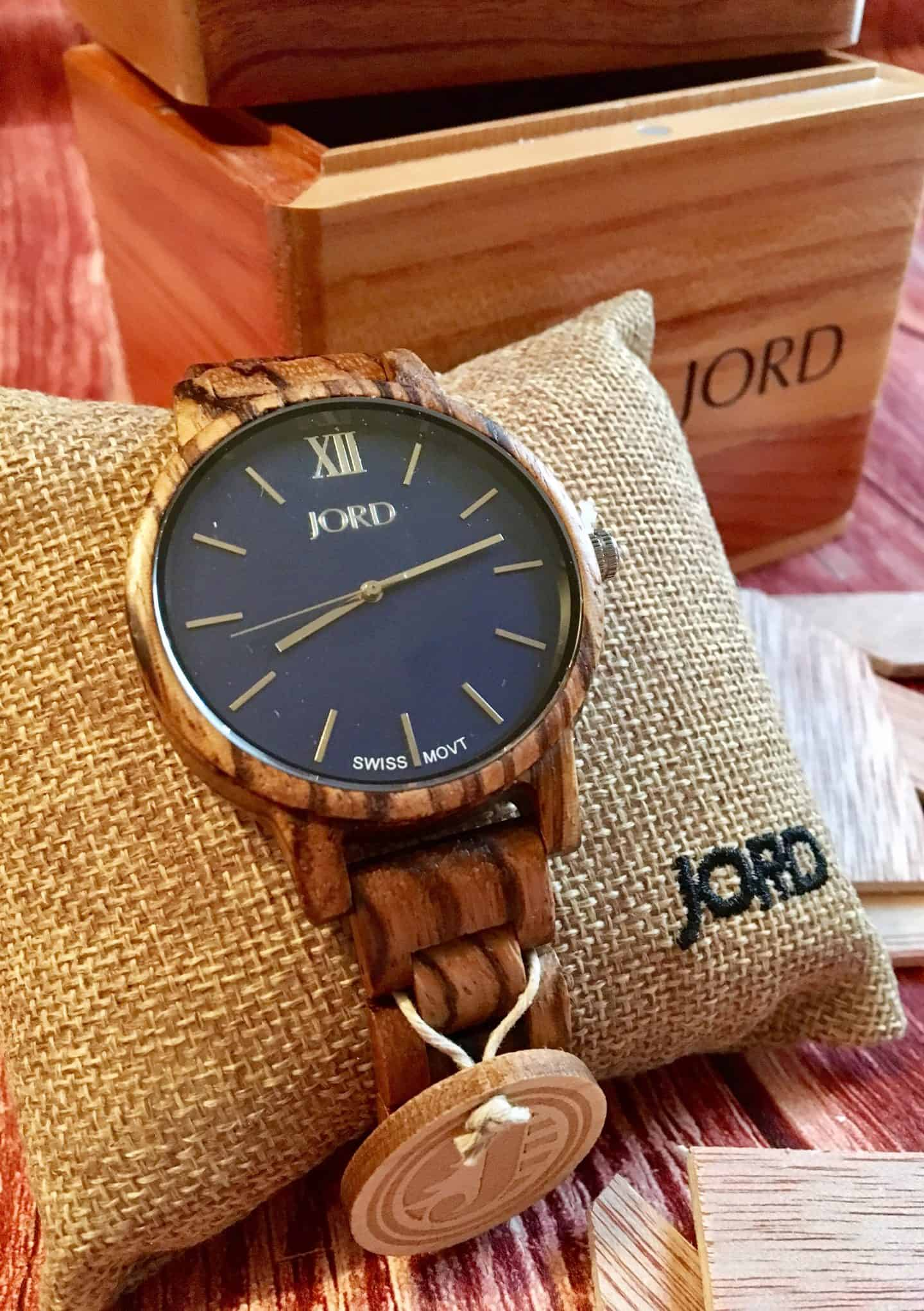 JORD Wood Watch Review & Giveaway