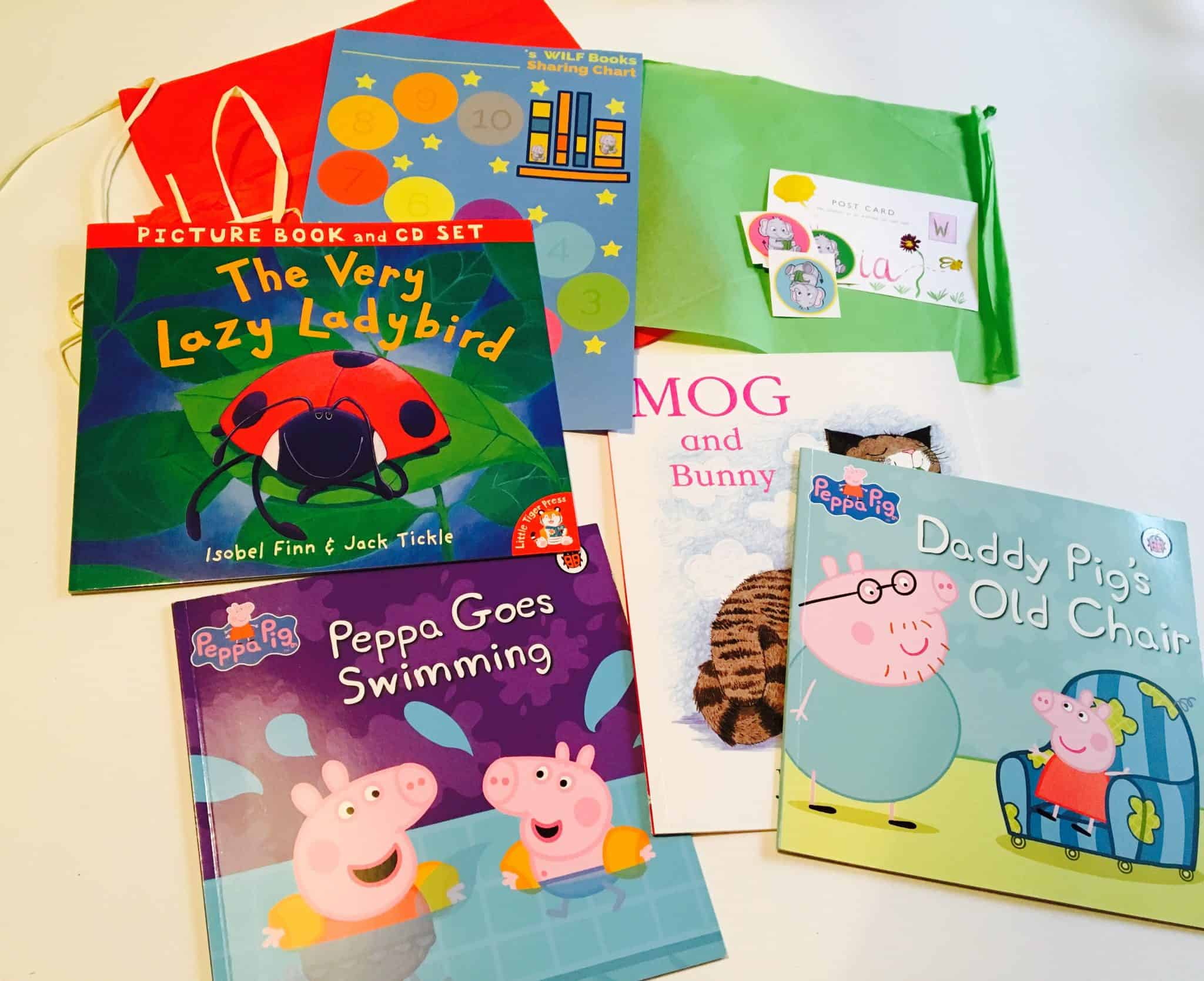 Books in the Wilf monthly books subscription