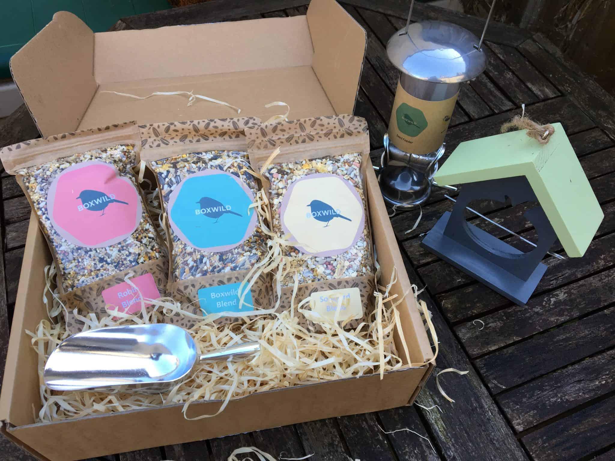 bird feeder gift box