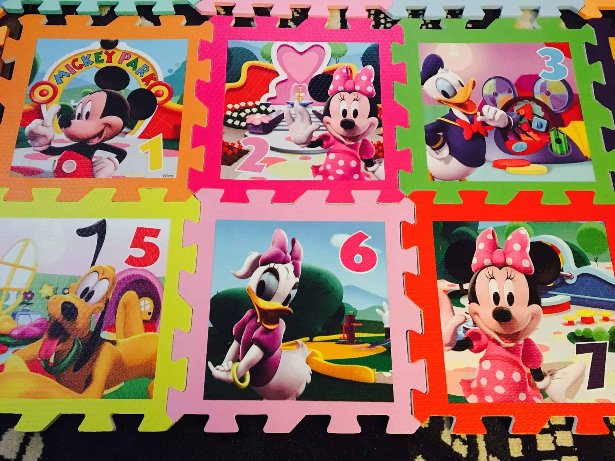 Mickey Mouse playmats