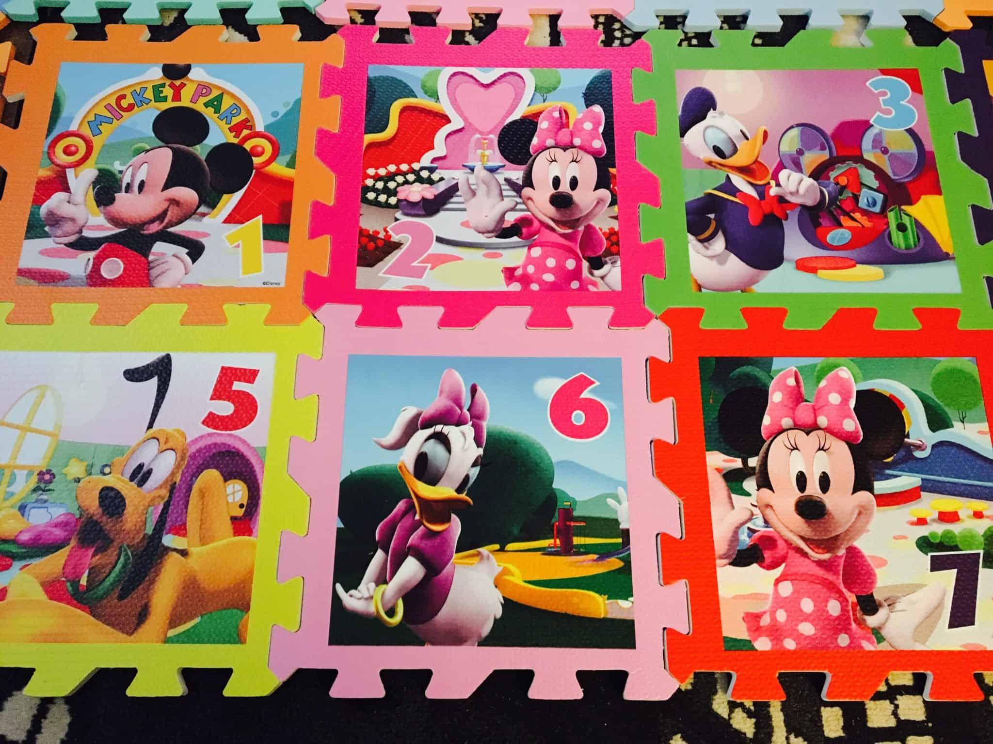 Mickey Mouse playmats