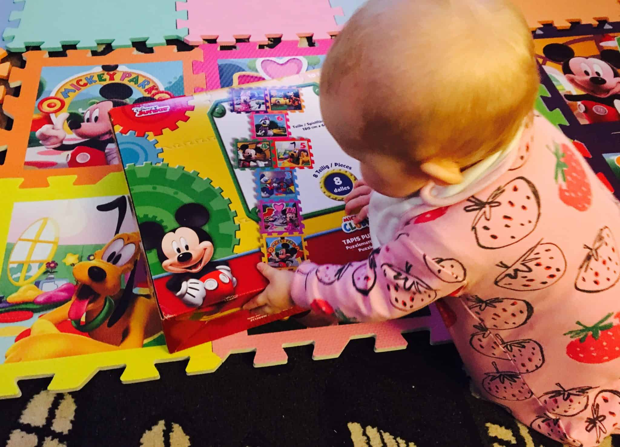 Mickey Mouse Hopscotch playmat