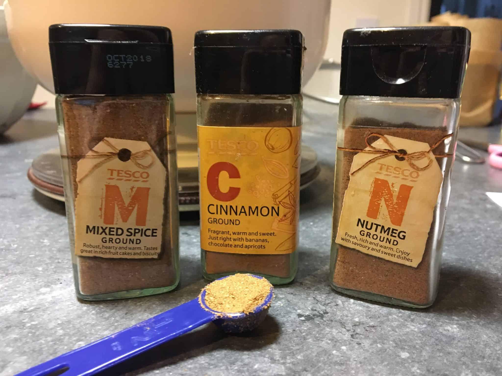 Christmas Cake spices