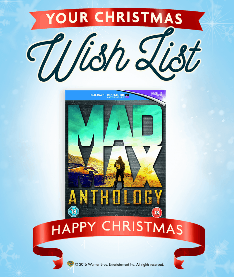 Mad Max blu ray anthology