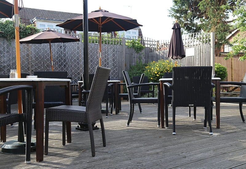 raised-decking - making the most out of your garden in the Autumn