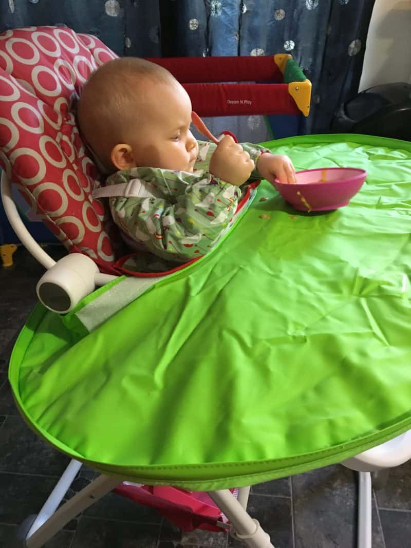 Mealtime with Tidy Tot