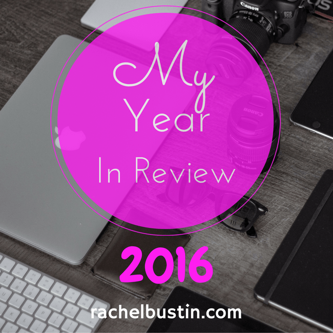 My Year In Review 2016