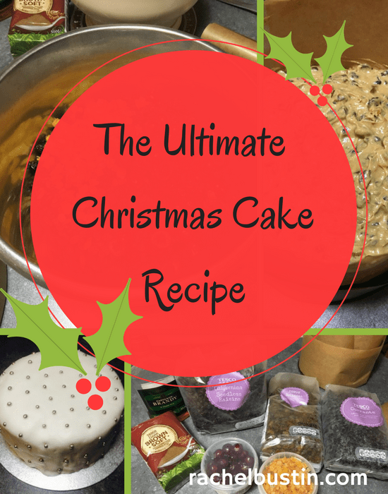 The Ultimate Christmas Cake Recipe