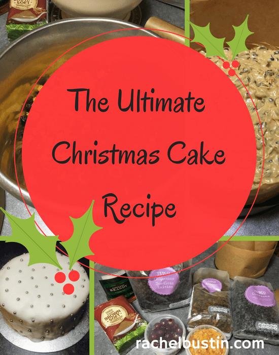 The Ultimate Christmas Cake Recipe