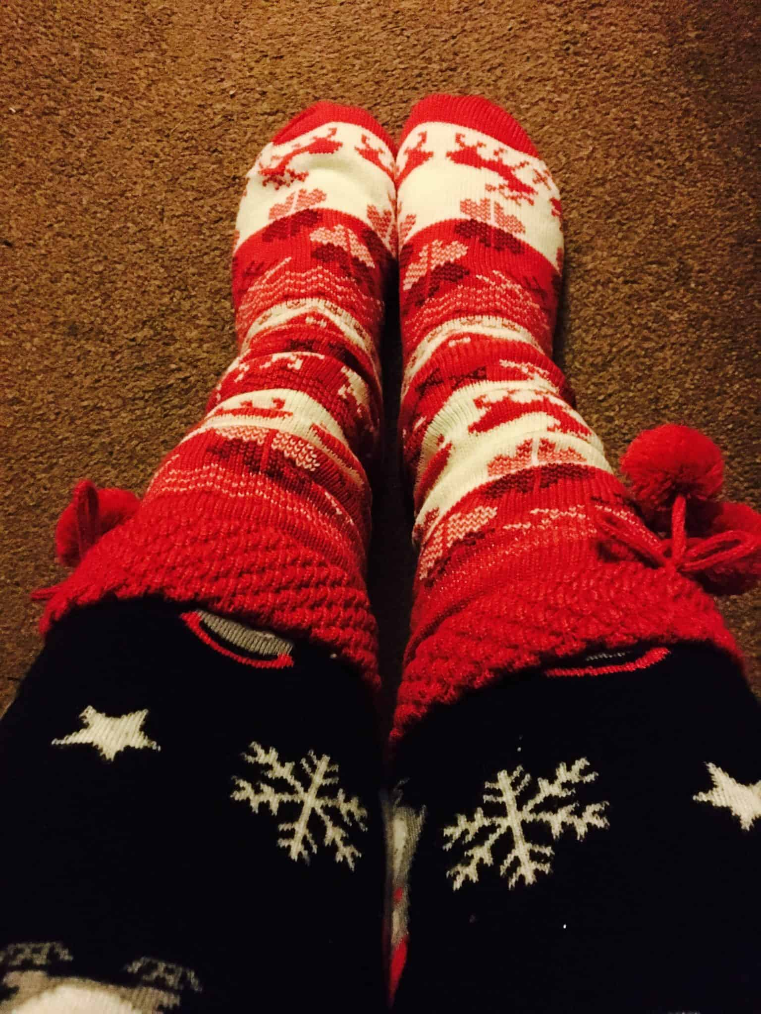 Dressing up warm to help costs of energy bills