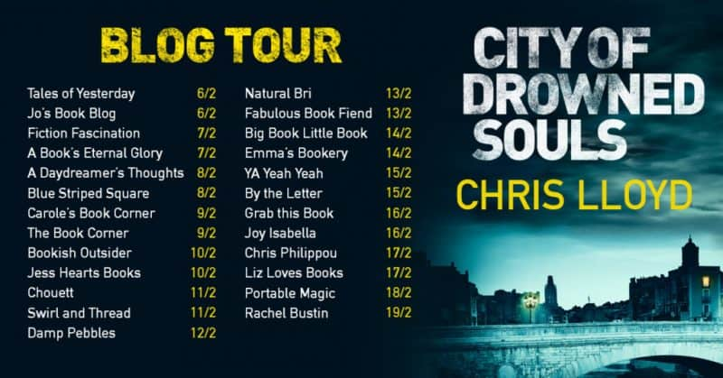 Blog Tour - City of Drowned Souls by Chris Lloyd