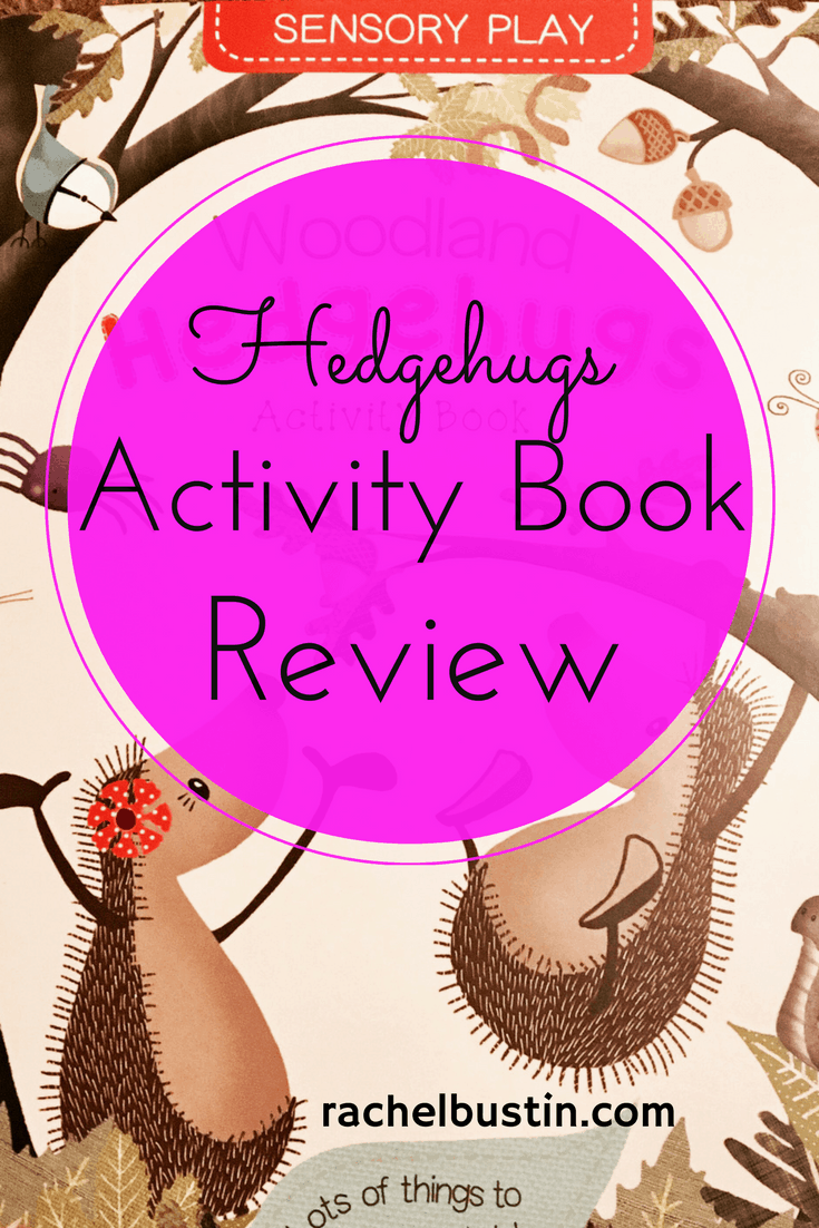 Book Review: Woodland Hedgehugs Activity Book