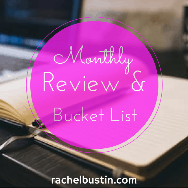 January Review and February Bucket List
