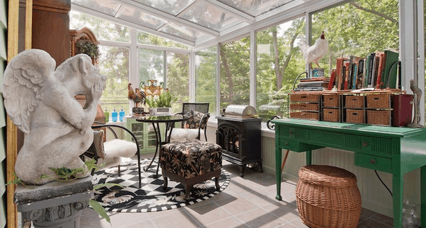 Creating a comfy conservatory