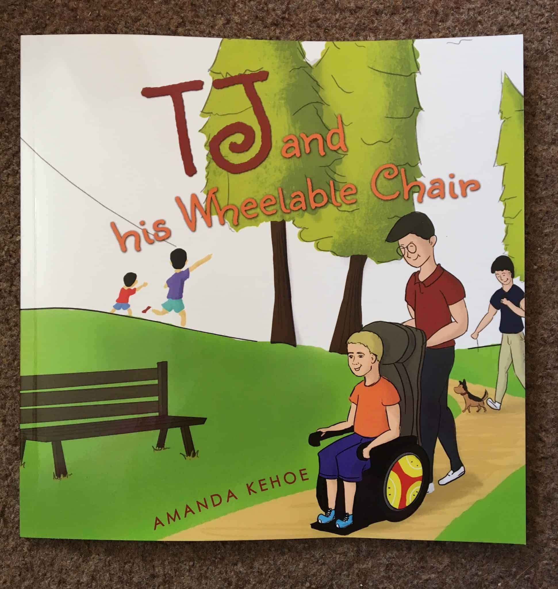 Book Review: TJ and his Wheelable Chair