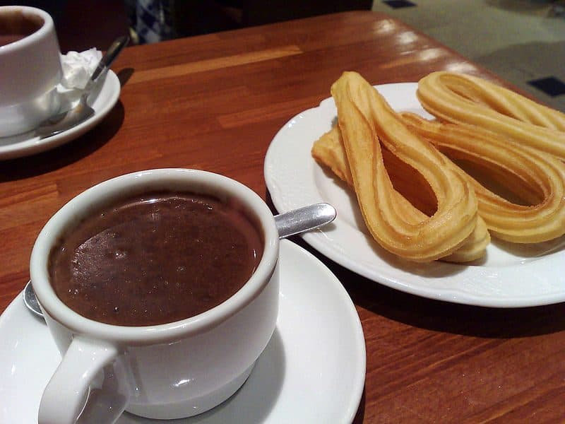 Cinnamon Churros With Mexican Dipping Sauce