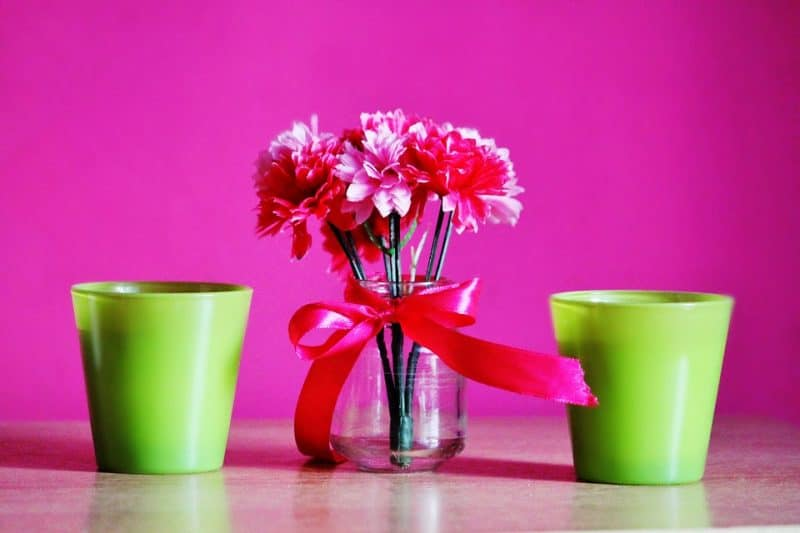 Add some flower pots to your home